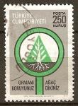 Sellos del Mundo : Asia : Turquía : Proteger los bosques, la plantación de árboles