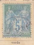 Stamps France -  Republica Francesa Ed 1876