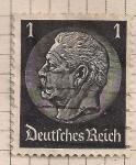 Sellos de Europa - Alemania -  Von Hindenburg
