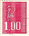 Stamps France -  Magenta