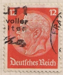 Stamps Germany -  Von Hindenburg