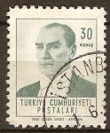 Sellos del Mundo : Asia : Turquía : Pesidente - Mustafa Kemal Atatürk