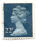 Sellos de Europa - Reino Unido -  Reina