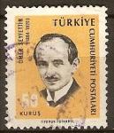 Sellos del Mundo : Asia : Turquía : Ömer Seyfettin,(1884-1920)novelista