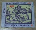Sellos de Europa - Croacia -  The battle of krbava 1493