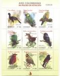 Stamps : America : Colombia :  Aves Colombianas en peligro de extinción