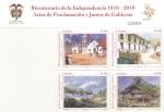 Stamps Colombia -  Bicentenario de la independencia 1810-2010