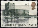 Sellos del Mundo : Europa : Reino_Unido : Carrickfergus Castle