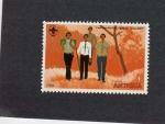 Stamps Antigua and Barbuda -  sello de antigua