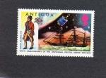 Sellos de America - Antigua y Barbuda -  sello de antigua