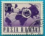 Stamps Romania -  Comunicaciones  y transportes con el mundo