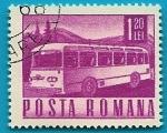 Sellos de Europa - Rumania -  Comunicaciones  y Transportes - Autobús