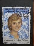 Stamps Africa - Djibouti -  21 ANIVERSARIO DE LADY DIANA