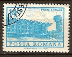 Sellos del Mundo : Europa : Rumania : Aeropuerto de Otopeni, Bucarest.