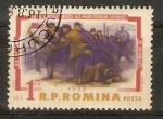 Stamps Romania -  HUELGUISTAS