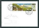 Stamps Switzerland -  Sitio tectónico del Sardona