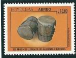 Stamps America - Honduras -  Cultura de los Garifunas,instrumentos musicales