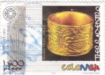 Stamps Colombia -  Tierradentro