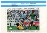 Sellos del Mundo : America : Argentina : argentina campeón 1986