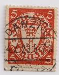 Stamps Germany -  corona y cruz