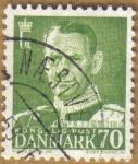 Sellos de Europa - Dinamarca -  FREDERICK IX