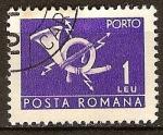 Sellos del Mundo : Europa : Rumania : Sello de portes debidos.
