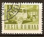 Sellos del Mundo : Europa : Rumania : Transp. y telecomu.-Camión Carpati(p).