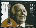 Stamps : Europe : Portugal :  El Fado,ilustres del fado (Carlos do Carmo)