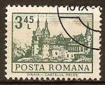 Sellos del Mundo : Europa : Rumania :  Castillo Peles en Sinaia.