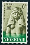 Stamps Africa - Nigeria -  Monumentos de Nubia (Egipto)