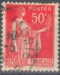 Stamps : Europe : France :  FRANCIA 267.02 PAZ CON RAMA DE OLIVO.0.2