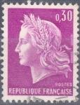 Stamps : Europe : France :  FRANCIA SCOTT 1198 MARIANNE POR CHEFFER. $0.2