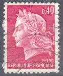 Stamps : Europe : France :  FRANCIA SCOTT 1231.02 MARIANNE POR CHEFFER. $0.2