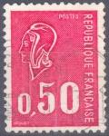 Stamps : Europe : France :  FRANCIA SCOTT 1293.01 MARIANNE POR BEQUET. $0.2