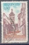 Stamps : Europe : France :  FRANCIA SCOTT 1312 TORRE Y CALLE DE RIQUEWIHR. $0.2