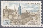 Sellos de Europa - Francia -  FRANCIA SCOTT 1335 ABADIA DE CHARLIEU