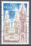 Stamps : Europe : France :  FRANCIA SCOTT 1418 SAINT POL DE LEON. $0.2