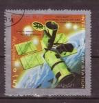 Sellos de Asia - Emiratos Árabes Unidos -  Estaciones interplanetarias