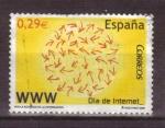 Stamps Spain -  Día de Internet