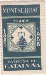 Stamps : Europe : Spain :  MONTSERRAT PATRONA DE CATALVÑA