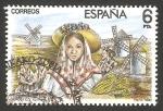 Stamps Spain -  2700 - Escena de la Zarzuela La rosa del azafán