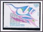 Sellos de Africa - Guinea Ecuatorial -  Scott  126  Dia de la revolucion cultural