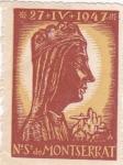 Stamps : Europe : Spain :  Nª Sª DE MONTSERRAT PATRONA DE CATALVÑA