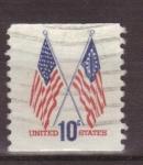 Sellos de America - Estados Unidos -  Banderas 50 estrellas y 13 estrellas