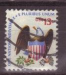 Sellos de America - Estados Unidos -  escudo