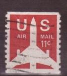 Sellos de America - Estados Unidos -  correo aéreo