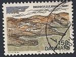 Stamps Denmark -  Depósitos de lignito en Soby