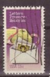 Stamps United States -  Semana del correo escrito