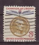 Sellos de America - Estados Unidos -  serie- champion of liberty