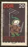 Sellos de Europa - Alemania -  Día del Niño,1964.Personajes de programas infantiles(DDR).